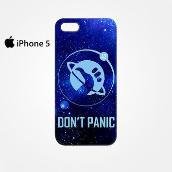 Hitchhiker's Guide To The Galaxy Don't Panic for Iphone 4/4S Iphone 5/5S/5C Iphone 6/6S/6S Plus/6 Plus 3D Phone case