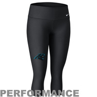 Nike Carolina Panthers Ladies Performance Capri Pants - Black