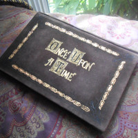 "Once Upon A Time Henry's Leather Book Cover for Kindles, iPad Mini or other 6""-8"" Tablets"