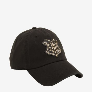 Harry Potter Metallic Hogwarts Dad Cap