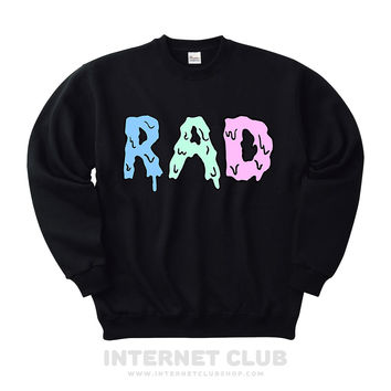 Pastel Dripping Rad Sweatshirt