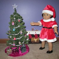 """Doll it Up!"" Christmas Tree Collection by Katie's Craftations"