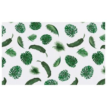 Tropical Leaves Tablecloth