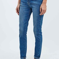 BDG Mid-Rise Ankle Cigarette Jeans in Light Blue - Urban Outfitters