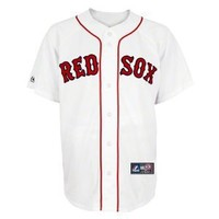 MLB Boston Red Sox Home Replica Baseball Youth Jersey, White
