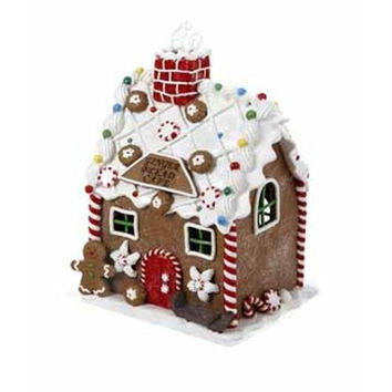 "6.5 ""  Christmas Cafe Decoration - Gingerbread Design"