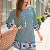 Edge Of Love Dress, Green
