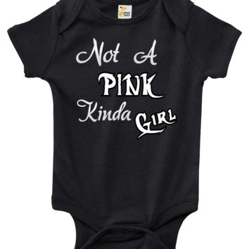 Baby Bodysuit - Not A Pink Kinda Girl