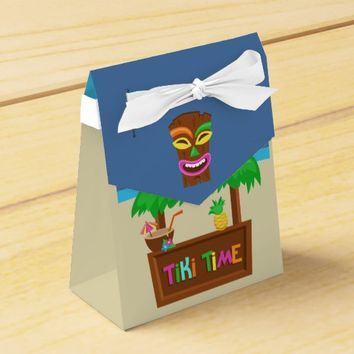 Kids Hawaiian Luau Party Guest Favor Favor Box
