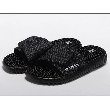 Adidas Women Fashion Yeezy Boost Print Slippers Sandals Shoes