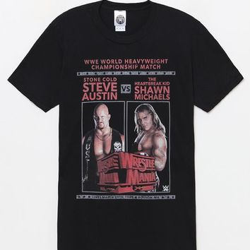 Wrestlemania Steve Austin vs. Shawn Michaels T-Shirt at PacSun.com