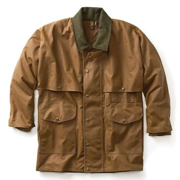 Filson Alaska Fit Tin Cloth Packer Coat - Men's