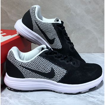 NIKE REVOLUTION 3 Knitted sports shoes