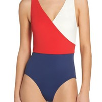 Solid & Striped Ballerina One-Piece Swimsuit | Nordstrom