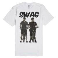 Swag Cops-Unisex White T-Shirt