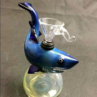 Hand blown small bong animal glass bong scopin water pipe scorpin glass bubbler shark bubbler octopus bubbler glass bong water pipe 4.5 inch
