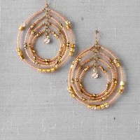 ODESSA BEADED DROP EARRINGS