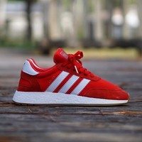 AA KUYOU Adidas INIKI  Gum Bottom  Red