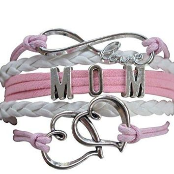Mom Bracelet Mom Jewelry Mom Infinity Bracelet Makes the Perfect Gift For Moms