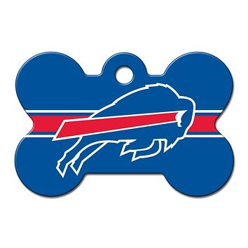 Buffalo Bills Bone ID Tag