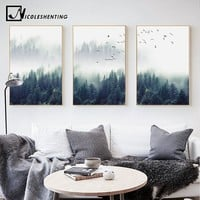Forest Wall Canvas