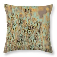 """By the Pond Throw Pillow 14"""" x 14"""""""