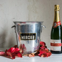 Champagne Ice Bucket // Vintage French MERCIER Bucket