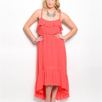SWEET LOVE MAXI  DRESS (PLUS)- 2 COLORS IN STOCK!