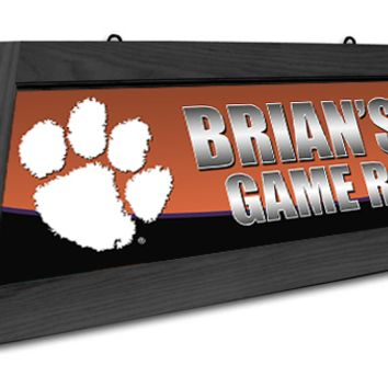 South Carolina Clemson Tigers Custom Pool Table Light