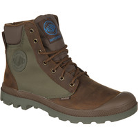 Palladium Pampa Sport Cuff WP2 Boot - Men's Bridle Brown/Olive Drab,