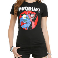 Batman: The Animated Series The Joker & Harley Puddin Girls T-Shirt