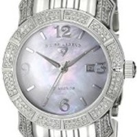 Swiss Legend Women's 23024-WMOP Marquise Diamond Collection Stainless Steel Watch: Amazon.ca: Watches