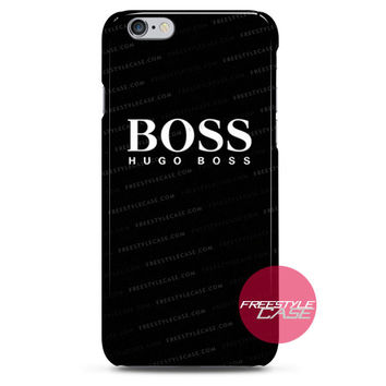 Hugo Boss Logo In Black iPhone Case Cover Series