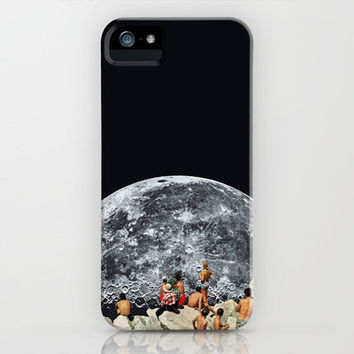 MOONRISE iPhone Case by Beth Hoeckel Collage & Design | Society6