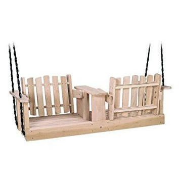 Poplar 5ft Porch Swing Beecham Swing Co. Flip-Ware