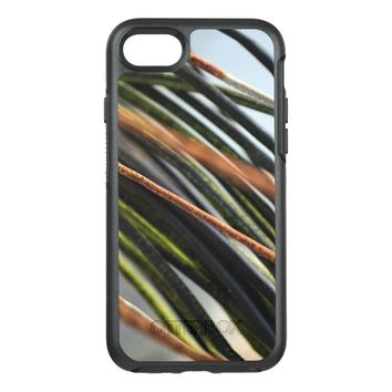 abstract black red and green urban photograph OtterBox symmetry iPhone 7 case