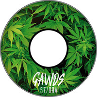 Gawds Team Weed Wheels 57Mm 89A