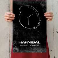 "Hannibal - ""Perfect Clarity"" Digital Art 11x17 Poster Print"