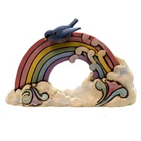 Jim Shore Rainbow Mini Figurine
