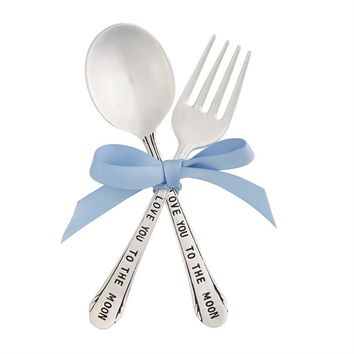 Baby Boy Feeding Set