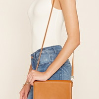 Faux Leather Crossbody | Forever 21 - 1000205925