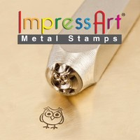 ImpressArt Design Stamp, Hootie, 6mm
