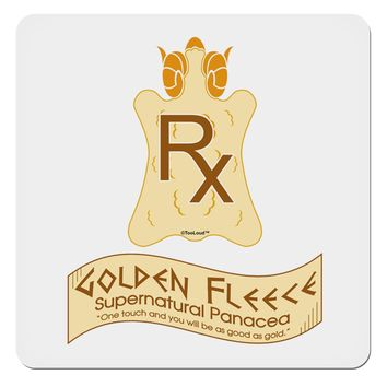 "Golden Fleece - Supernatural Panacea 4x4"" Square Sticker by TooLoud"