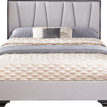Sofia Vergara Biscayne 3 Pc King Upholstered Bed
