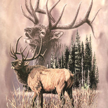 Elk Call Signature Queen Blanket - Free Shipping in the Continental US!