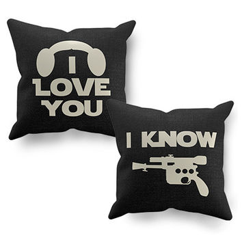 Star Wars Love Pillow Covers