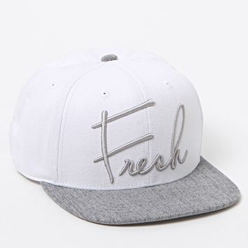 Neff Fresh Heather Cap Hat - Mens Backpack - White - One
