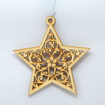Star - Holiday Ornaments