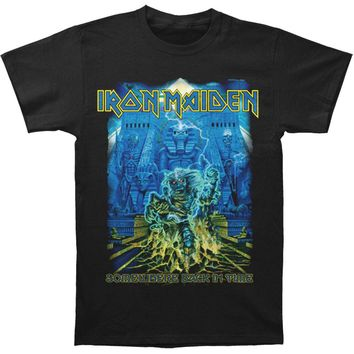 Iron Maiden Men's  SBIT Mummy T-shirt Black