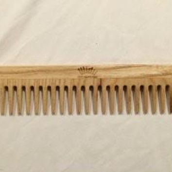 Widu Wood Dresser Comb with Wide Teeth